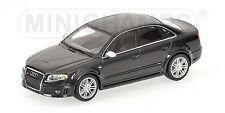 Very Rare Audi RS4 V8 B7 2008 Saloon Phantom Black 1:43 MINICHAMPS