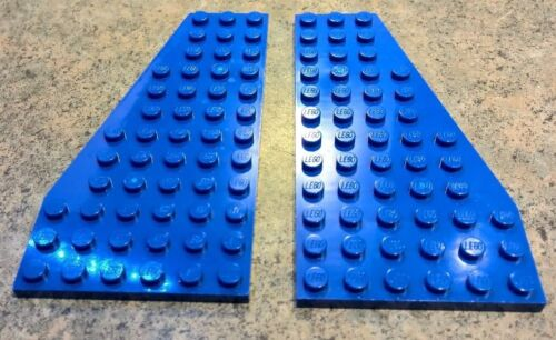 Lego Lot of 2-6x12 plate wing wedge Right Left 30355 30356 Choose Your Color