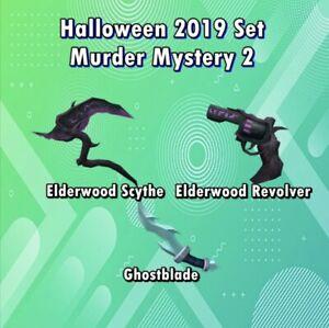 MM2 Elderwood Set + Free Ghostblade - Super Cheap - Very Rare