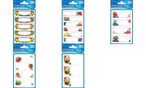 Avery Zweckform Haushaltsetiketten Etiketten Marmelade Obst 12 Stück Aufkleber