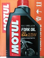 Motul Gabelöl Factory line 2,5W SAE 2,5 USD Synthetisch Kawasaki KXF 250 450
