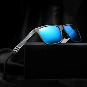 7762064295 Image is loading Men-039-s-Aluminium-Polarized-Colored-Sunglasses-Driving-