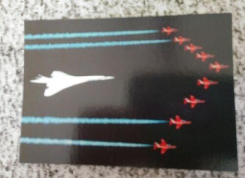 British Airway Concorde Postcard
