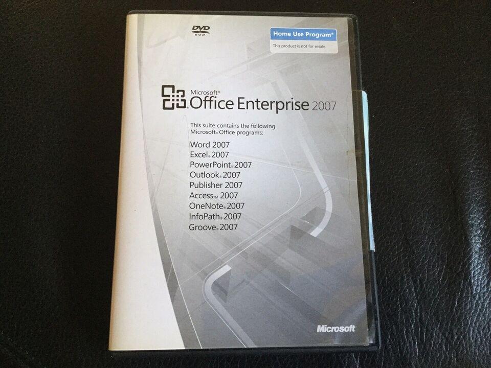 Office enterprise 2007, Office