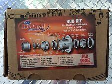 Idler GALV Hub 5200 6000 # Trailer Axle 82655 Comp Hub Assembly Rockwell Dexter