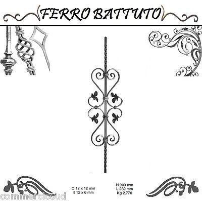 Tools & Workshop Equipment Other Tools & Workshop Equipment Pannelli Paletti Fogliati Ferro Battuto X Scala Ringhiere Cancello H 90cm L 23cm Invigorating Blood Circulation And Stopping Pains