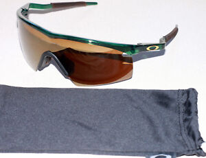 cd23103535 OAKLEY M FRAME MUMBO CRYSTAL GREEN FRAME W  GOLD IRIDIUM STRIKE LENS ...