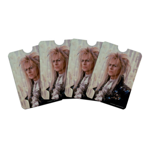 David Bowie As Jareth Labyrinth Candles Credit Card RFID Blocker Sleeves Set