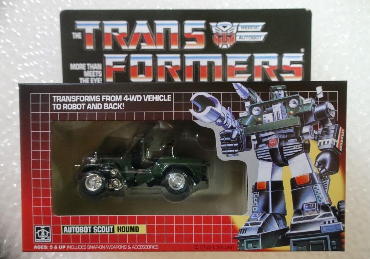 New arrivial TRANSFORMERS G1 Reissue Hound Gift Kids Toy Action Brand