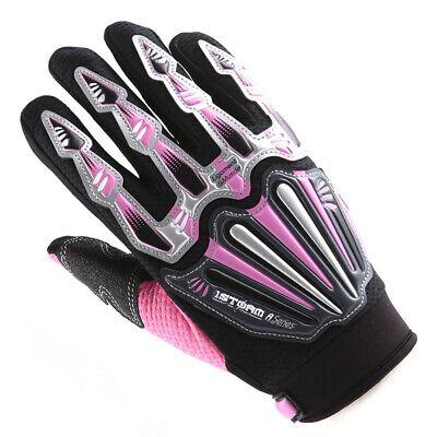 White Blue XXL gloves MORPH Racing motocross mx atv dirt bike mtb moto bmx