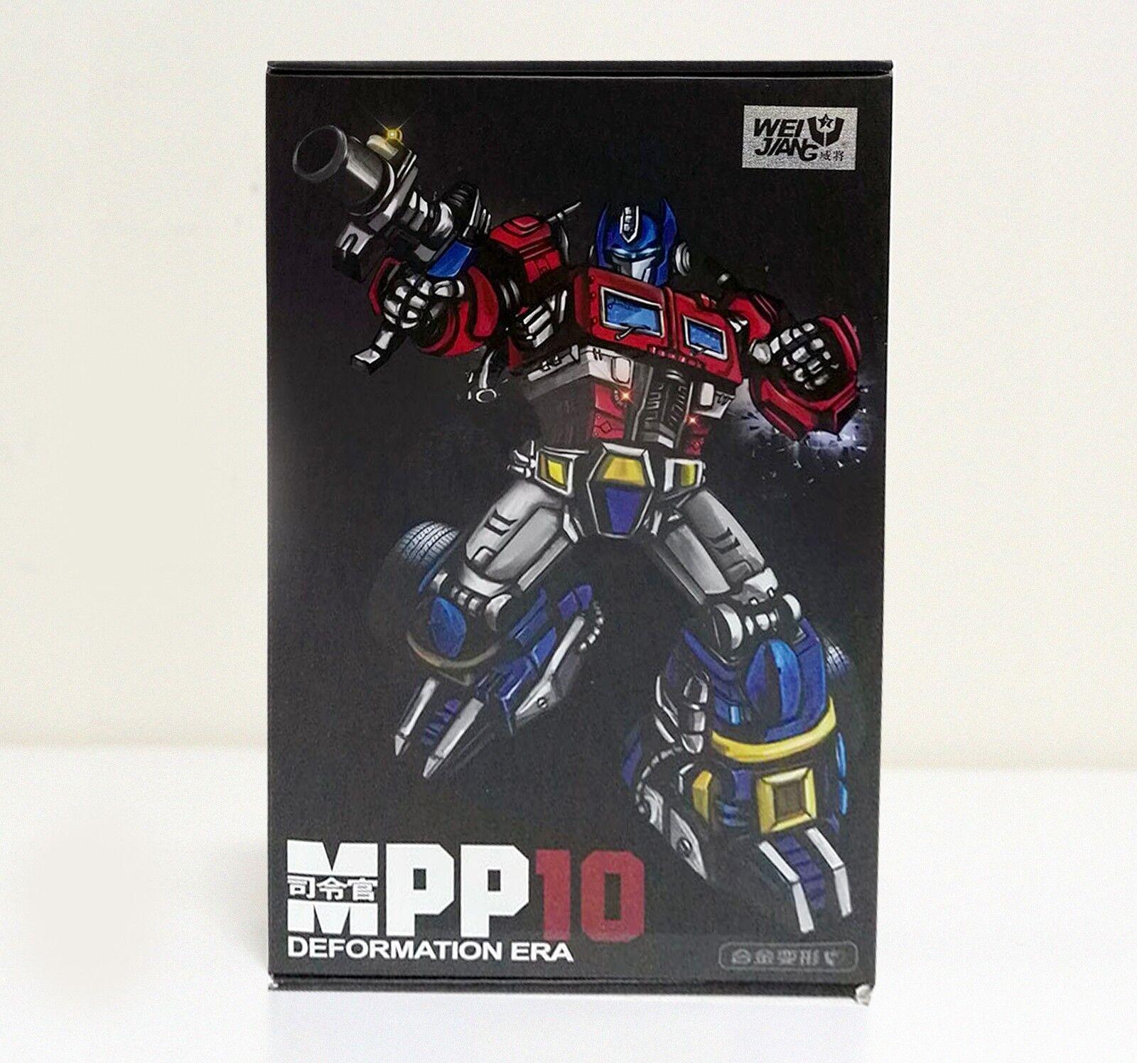 WEI JIANG WEIJIANG MPP10 MPP-10 Commander Transformers OPTIMUS PRIME NEW