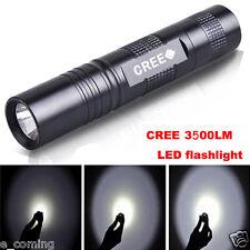 Gran Potencia 3500 LM 3 Modos CREE XM-L T6 LED 18650 Con zoom Linterna Focus Luz