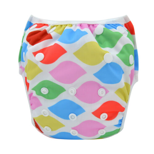 Leakproof Washable Reusable Swim Diapers For Kids 0 to 2 Years