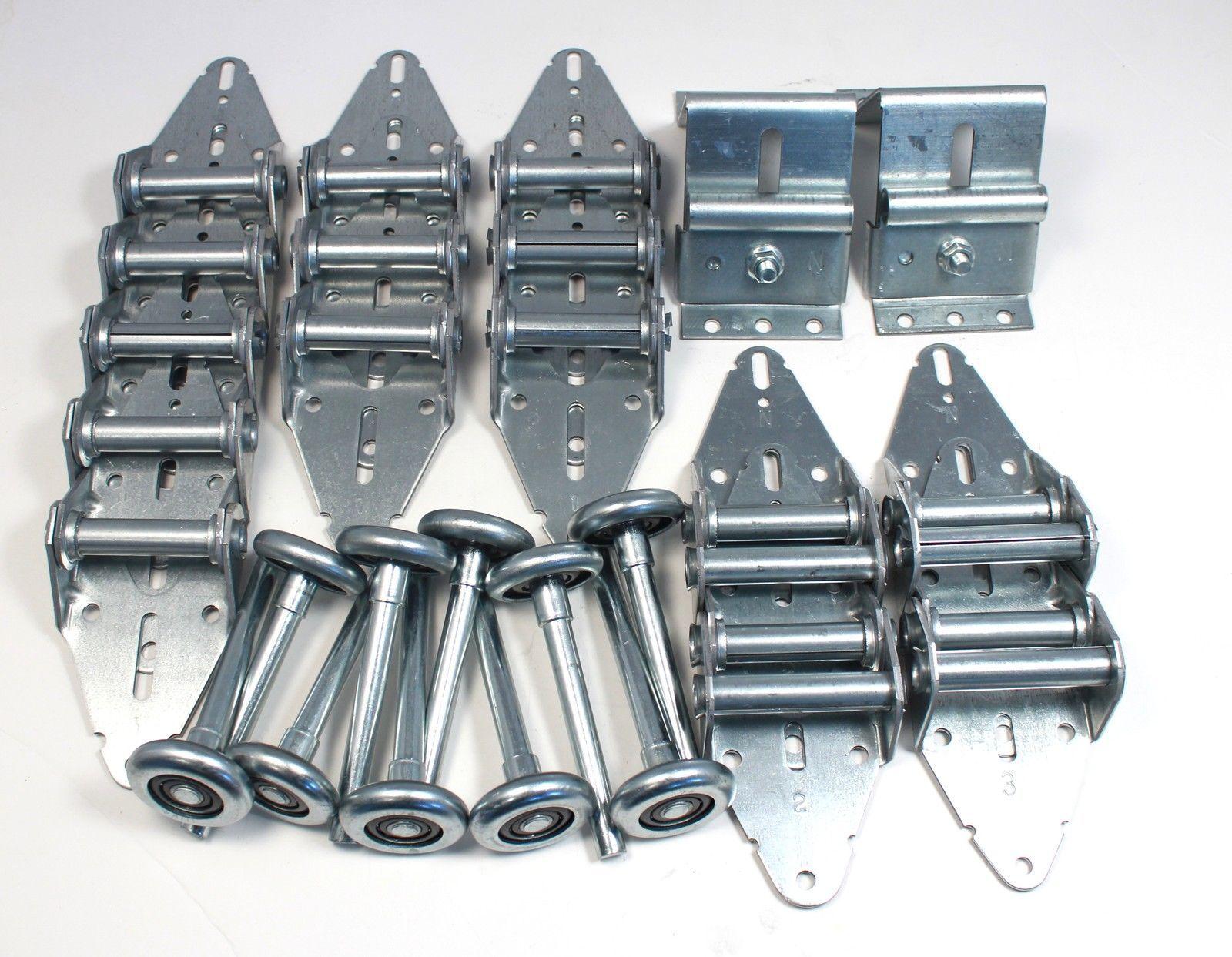 Garage Door 11 Gauge Hinge   Roller Kit for 16' X 7' or 18' X 7 w  Options