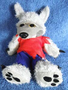 1919a-Howl-the-werewolf-bear-Skansen-Beanie-Kids-plush-22cm