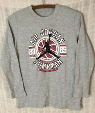 NWT Nike Air Jordan Boys LG T Shirt Jumpman Since 1985 White Short Sleeve New LG