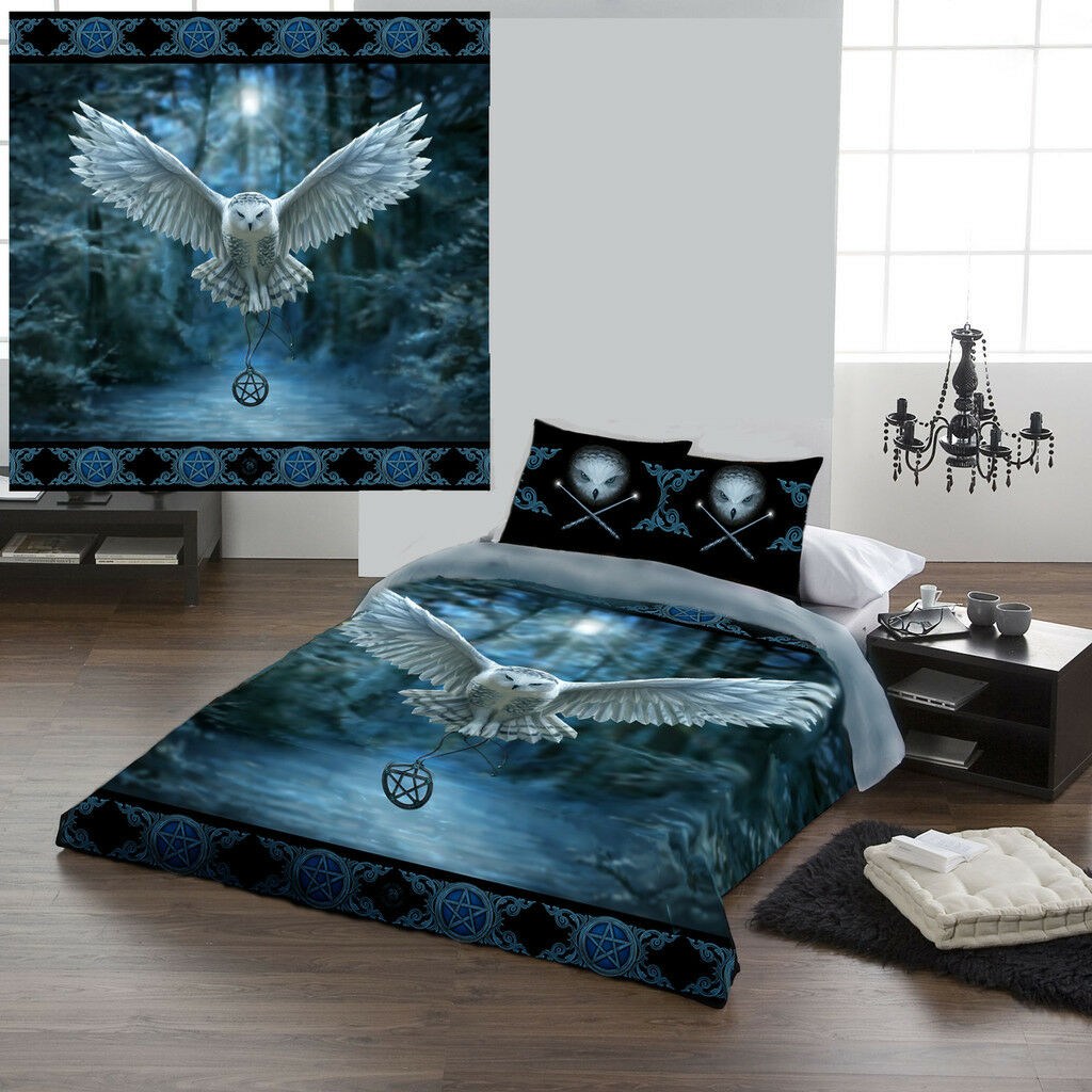 AWAKE YOUR MAGIC - Duvet Cover Set for UK KING   US QUEENSIZE BED by Anne Stokes