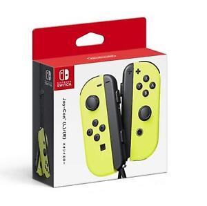 Joy-Con-L-R-Neon-Yellow-Nintendo-Switch-Controller-Japan-import