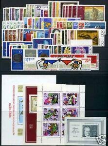 DDR-Jahrgang-1970-postfrisch-MNH-jede-MiNr-1x-mit-Block