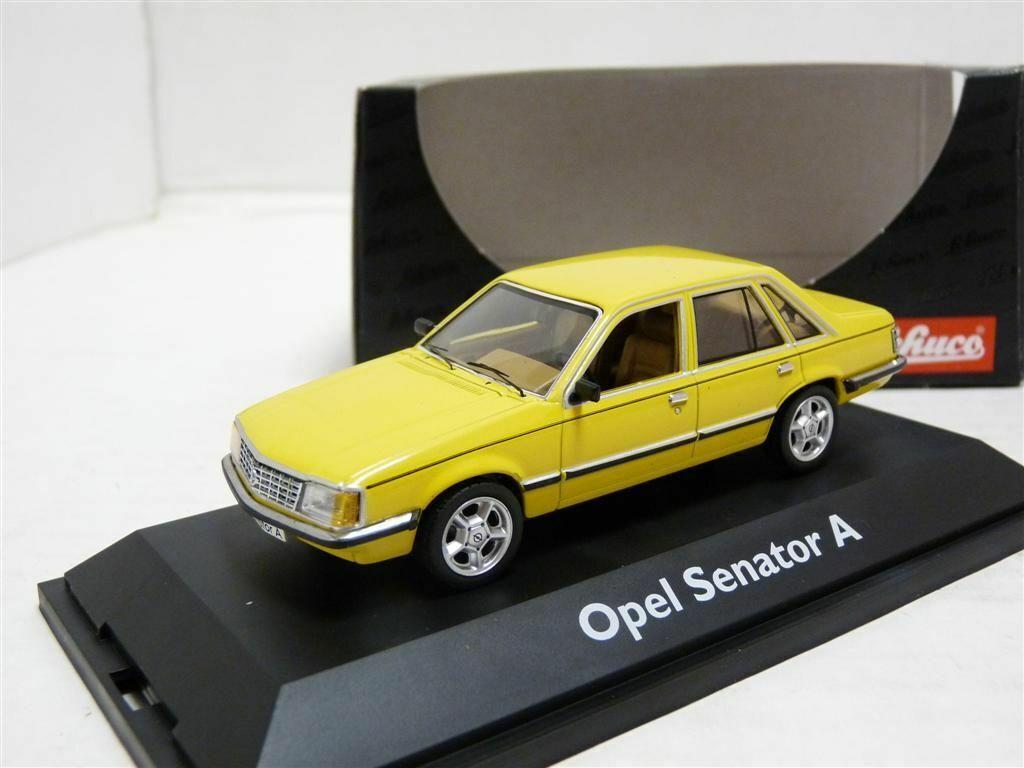 Schuco 03302 1 43 1978 Opel Senator Un Coche Modelo Diecast