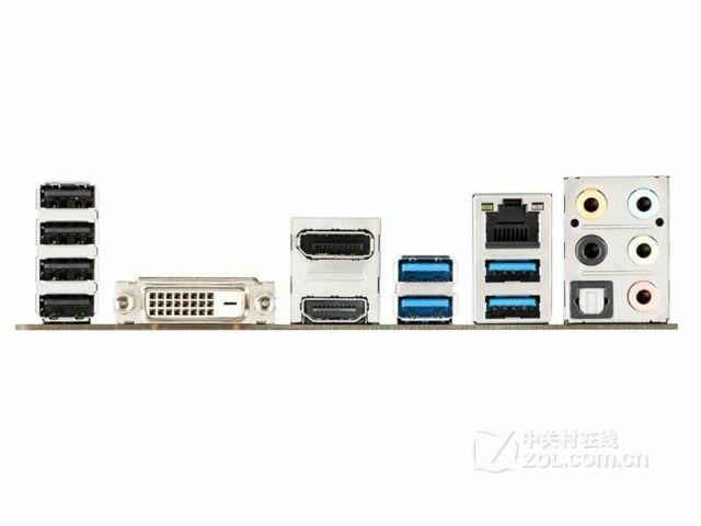 OEM   I//O IO SHIELD BLENDE Original Z97M PLUS Z97-E//USB 3.1