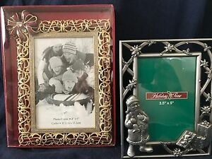 Christmas metal frames lot ebay