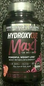 HYDROXYCUT Pro Clinical Max for Women Weight Loss Diet 60 Liquid Capsules