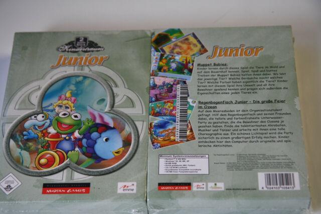 Kindertraum: Junior - 2 PC Spiele Box  (PC) A5  Kartonbox    Neuware   New