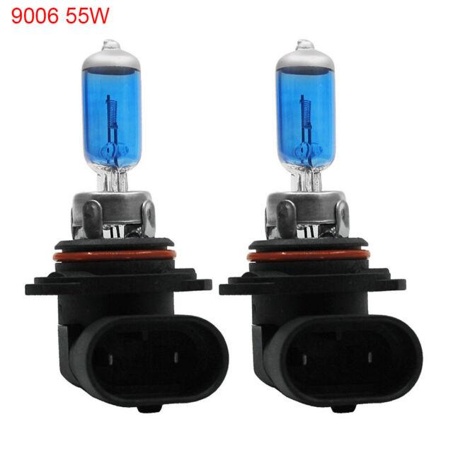 2PCS HB4 9006 12V 55W 5000K halogen Car Light Bulbs Super Xenon White  Headlight