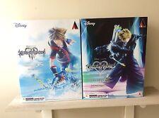Play Arts Kai Kingdom Hearts II & III Sora And Organization XIII Roxas Lot