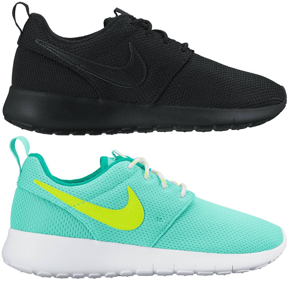 Nike Roshe One Rosheone Sneaker Turnschuhe schwarz 599728 031 türkis 599729 302