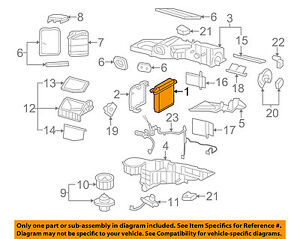 gm oem a c ac evaporator core 89019027 ebay Ford Expedition AC Diagram image is loading gm oem a c ac evaporator core 89019027