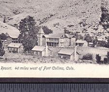 Livermore Colorado 1909 Cherokee Park Dude Ranch Campton Resort Ft Collins Card