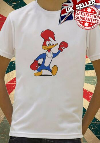 Woody Woodpecker Boxing Funny Cartoon cool Kids Boy Girls Unisex Top T-Shirt 693