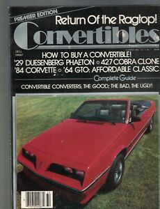 Return-of-the-Ragtop-Magazine-Convertibles-Summer-1983-Corvette-Bill-Ruger