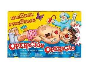 Juego de Mesa Familiar Operacion Hasbro Gaming