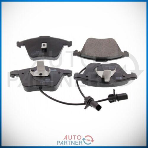Bremsbeläge Satz Vorne für Audi A6 4B bis FIN 4B-X-070000 mit Bremssystem ATE