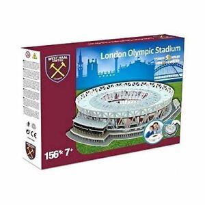 Oeste-Ham-UNITED-039-S-Londres-Estadio-3D-Rompecabezas-Juguete