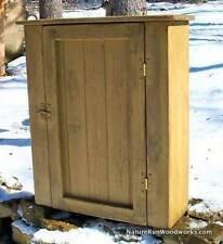 Primitive Handcrafted Wall Cupboard (cambridge)