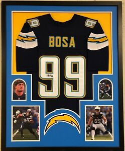 001d2f962d9 Image is loading FRAMED-SAN-DIEGO-CHARGERS-JOEY-BOSA-AUTOGRAPHED-SIGNED-
