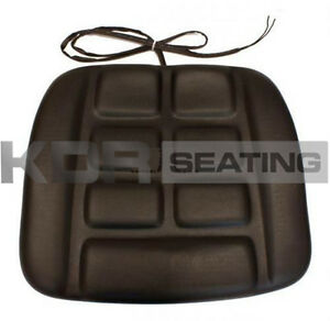 GRAMMER-GS12-B12-TYPE-SEAT-CUSHION-ONLY-IN-PVC-with-SWITCH-FORKLIFT-LINDE-ETC