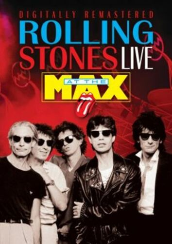 1 of 1 - THE ROLLING STONES Live At The Max DVD BRAND NEW NTSC Region 0