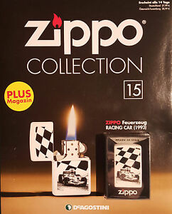 Zippo-Collection-Nr-15-Sturmfeuerzeug-Zippo-Racing-Car-1993-never-fired