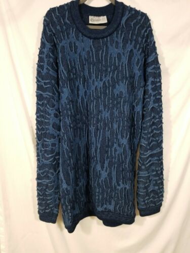 Coogi Blues Cotton Sweater Size Xlarge Tall