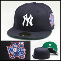 Era York York Yankees Fitted Hat Cap 1978 (75th) World Series Patch