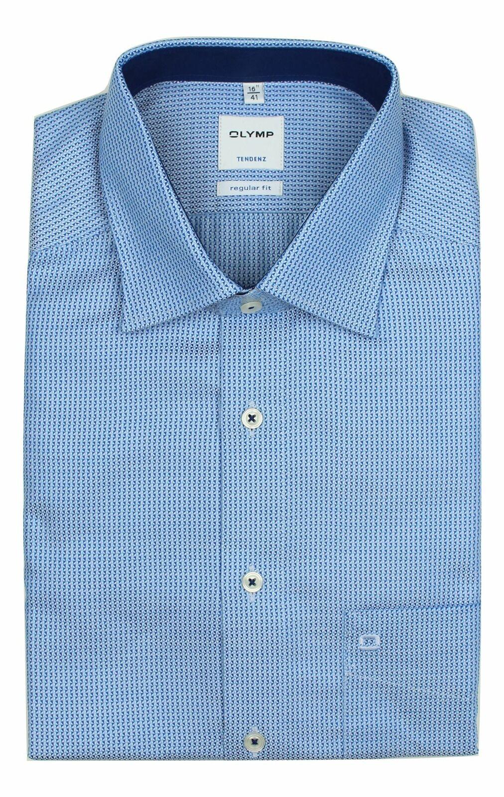 Blue Gaspard Spread Collar