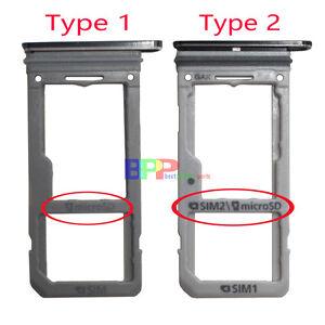 e44894f80 Original Dual Sim Card+Micro SD Holder Slot Tray For Samsung Galaxy ...