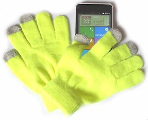 Smartphone-Handschuhe-Neon-Touch-Screen-Handy-fuer-Samsung-iPhone-6-S6-S7-HTC-u-a