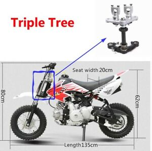 Dirt-Pit-Bike-Triple-Tree-Clamps-50cc-70cc-90cc-110cc-Dirt-Bikes-Fit-90B-Fork