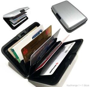 Details Zu Alu Kreditkarten Etui Visitenkarten Kartenetui Ec Karten Portemonai Bankkarten